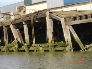 decayed jetty